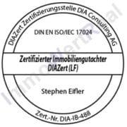 zertifizierter immobiliengutachter diazert marktwertermittlung immobilienarten 17024